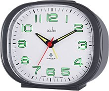 Acctim 15712 Avery Alarm Clock with Snooze in Grey