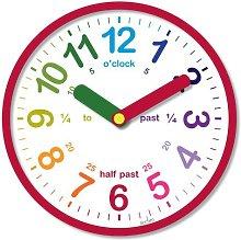 Acctim 21884 Lulu Wall Clock, Red by Acctim