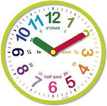 Acctim 21885 Lulu Wall Clock, Green by Acctim