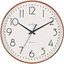 Acctim 22568 Earl Copper Sweep Wall Clock