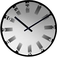 Acctim 27317 Anders Mirror Glass Wall Clock Mirror