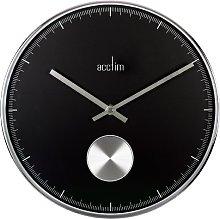 Acctim 28243 Stanmore Chrome Pendulum Wall Clock,