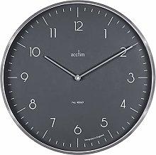 Acctim 29517 Madison Silver Wall Clock