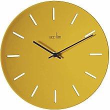 Acctim 29541 Majken wall clock - Mustard
