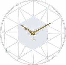 Acctim 29572 Alva quartz wall clock with white