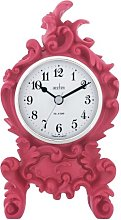 Acctim 33600 Clermont Pink Table Clock