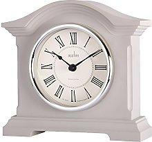 Acctim 33796 Cliffburn Mantel Clock in Taupe