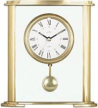 Acctim 36358 Welwyn Mantel Clock, Gold