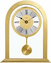 Acctim 36938 Colney Metal and Glass Table Clock in