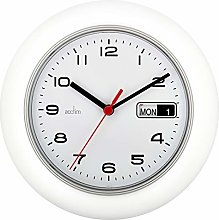 Acctim 93/702W - Day/Date Wall Clock in White