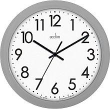 Acctim Abingdon Grey Wall Clock