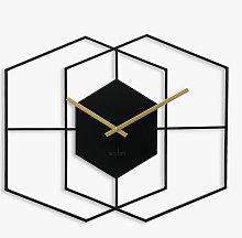 Acctim Addison Metal Analogue Quartz Wall Clock,