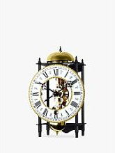 Acctim Alcester Mechanical Table Clock, 22cm,