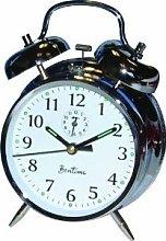 Acctim Bell Alarm Clock - Acctim keywound saxon