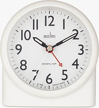 Acctim Blake Smartlite Silent Sweep Analogue Alarm
