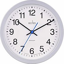 Acctim Bromham Non Ticking Sweep Seconds Hand Wall