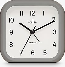 Acctim Carter Silent Sweep Hands Analogue Alarm