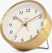 Acctim Classic Silent Sweep Analogue Alarm Clock,