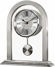 Acctim Colney 36937 Glass and Metal Table Clock in