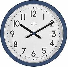 Acctim Elstow 22849 Wall Clock in Midnight Blue