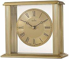 Acctim Gayhurst 36998 Brass Effect Mantel Clock