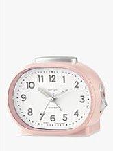 Acctim Lila Sweep Analogue Alarm Clock, Nougat