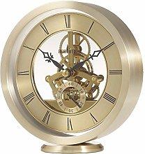 Acctim Millendon 37028 Round Skeleton Mantel Clock