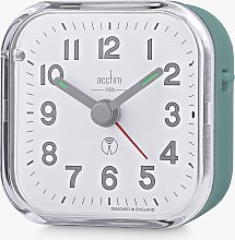 Acctim Radio Controlled Analogue Alarm Clock, Moss