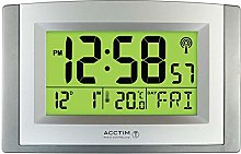 Acctim Radio Controlled LCD Wall Clock.