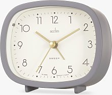 Acctim Ramsey Curved Silent Sweep Analogue Alarm
