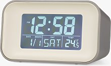 Acctim Reflection Display LCD Digital Alarm Clock,