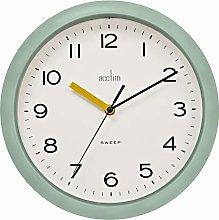 Acctim Rhea 22855 Wall Clock in Cool Min