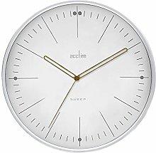 Acctim Solna 22812 Wall Clock in White
