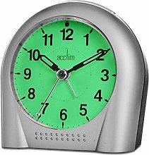 Acctim SWEEPER SILVER ALARM clock