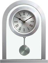 Acctim36757 Bathgate Glass Pendulum Mantel Clock,