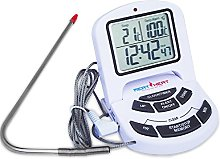 Accurate Digital Meat Thermometer with Stainless