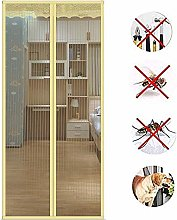 ACEMIC Magnetic Screen Door, Magnetic Sliding Mesh