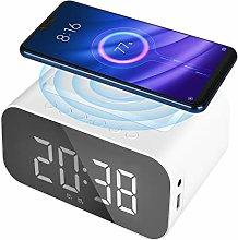 Achort Alarm Clock Radio with Bluetooth Speaker,