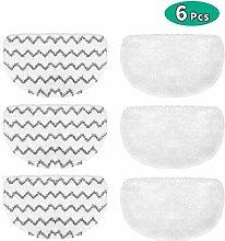 Achort BISSELL Steam Mop Pads, 6 Packs