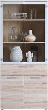 Achouhada Display Cabinet Ebern Designs