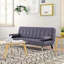 Acker 2 Seater Clic Clac Sofa Bed Zipcode Design