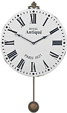 Acker Antique Pendulum 44cm Wall Clock Rosalind