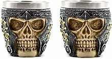 Acme Approved Imperial Skull Shot Glass Pirate