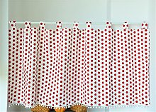 ACMHNC Cafe Short Curtain Kitchen Valance Country