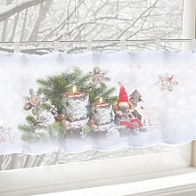 ACMHNC Christmas Curtain Decoration for Kitchen
