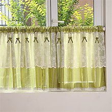 ACMHNC Short Curtains for Small Windows, Rural
