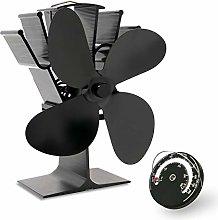 AcornSolution Heat Stove Fan for Wood Burning