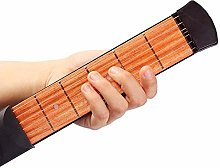 Acoustic Guitar Practice Tool Portable Wooden