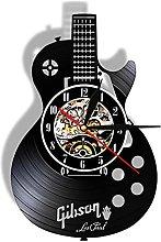 Acoustic Guitar Wall Art Wall Clock Musical
