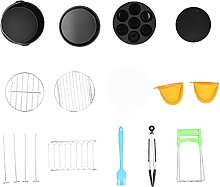 Acouto Fryer Accessory,Grill Rack Skewer Cake